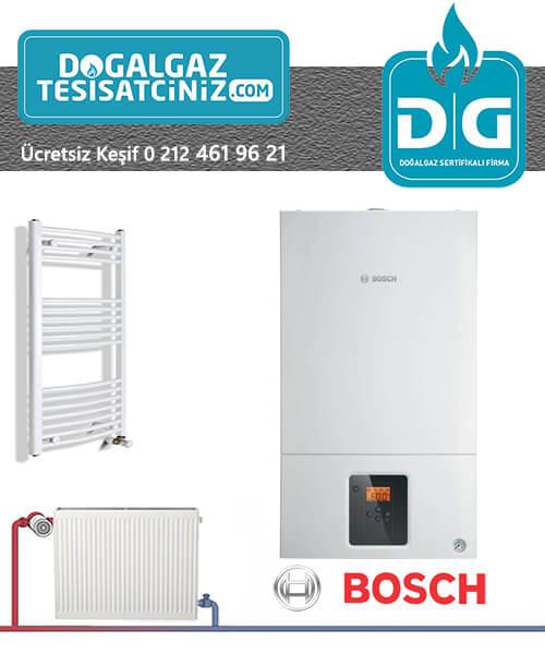 doğalgaz tesisatı kampanyası bosch kombiyle